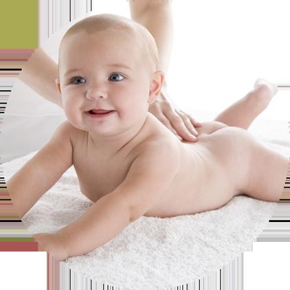 Лечение спины - массаж детский